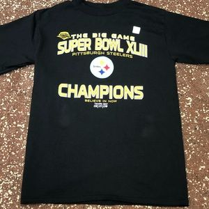 Pittsburgh Steelers Super Bowl Adult Medium Shirt